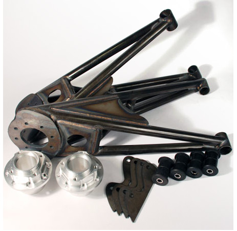 930 Stub Axle, 4130 Trailing Arms